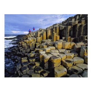 Irlanda del Norte, condado Antrim, gigante Tarjetas Postales