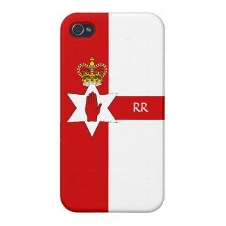 Irlanda del Norte Ulster señala el iPhone por medi iPhone 4 Cárcasa