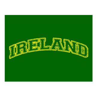 Irlanda deportiva tarjetas postales