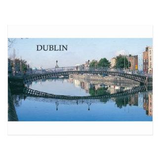 Irlanda Dublín (St.K.) Tarjeta Postal