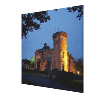 Irlanda, el castillo de Dromoland se encendió en l Impresiones De Lienzo