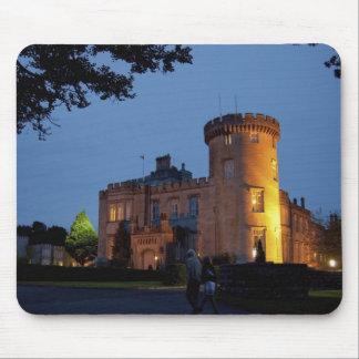 Irlanda, el castillo de Dromoland se encendió en l Mousepad