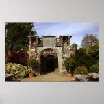 Irlanda, el jardín emparedado castillo de Dromolan Posters