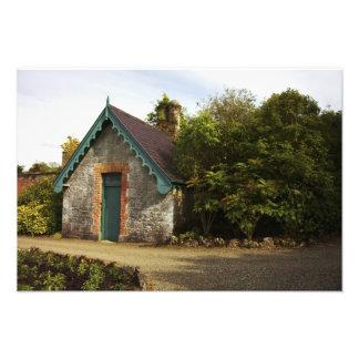 Irlanda el jardín emparedado castillo de Dromolan Arte Fotográfico