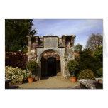Irlanda, el jardín emparedado castillo de Dromolan Tarjetas