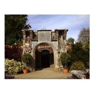 Irlanda, el jardín emparedado castillo de postales