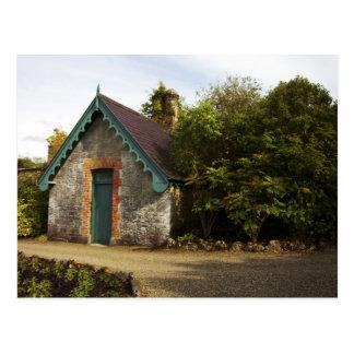 Irlanda, el jardín emparedado castillo de tarjetas postales