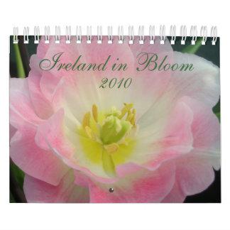 Irlanda en calendario de la floración 2010