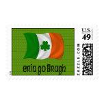 Irlanda Erin va para siempre refrán irlandés de Franqueo