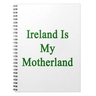Irlanda es mi patria libreta