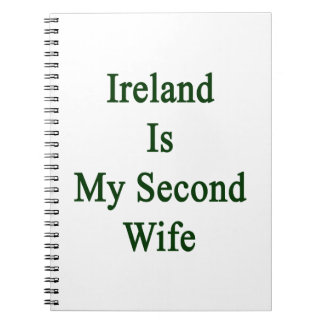 Irlanda es mi segunda esposa libro de apuntes