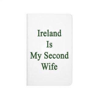 Irlanda es mi segunda esposa cuaderno grapado