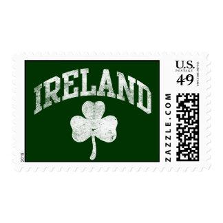 Irlanda, estilo del equipo universitario del franqueo