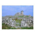 Irlanda, Inishmore, isla de Aran, fuerte de Aengus Postal