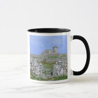 Irlanda, Inishmore, isla de Aran, fuerte de Aengus Taza
