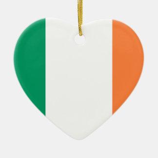 Irlanda, Irlanda Adorno De Cerámica En Forma De Corazón