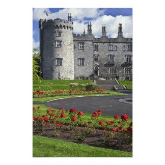 Irlanda, Kilkenny. Vista del castillo de Kilkenny Fotografía