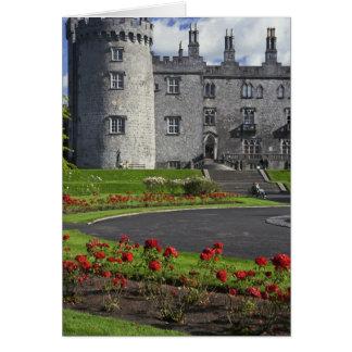 Irlanda Kilkenny Vista del castillo de Kilkenny Felicitación