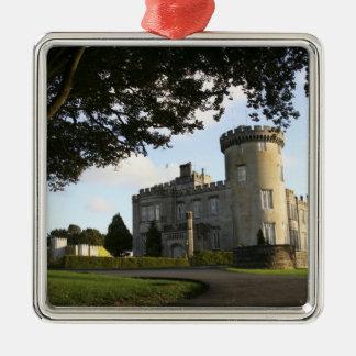 Irlanda, la entrada lateral del castillo de adorno cuadrado plateado
