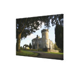 Irlanda, la entrada lateral del castillo de Dromol Impresiones En Lienzo Estiradas