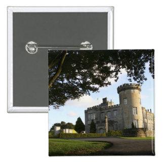 Irlanda, la entrada lateral del castillo de Dromol Pin Cuadrada 5 Cm