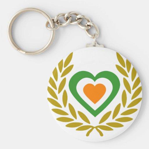 irlanda-laurel-heart-3 llavero personalizado