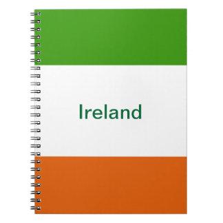 Irlanda Libro De Apuntes Con Espiral