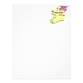 Irlanda Membrete Personalizado