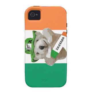 Irlanda, oso de peluche irlandés del Leprechaun, b iPhone 4/4S Fundas