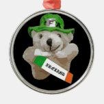 Irlanda, oso de peluche irlandés del Leprechaun, n Adorno Para Reyes