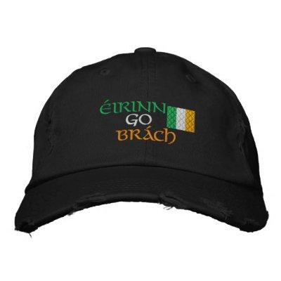 Irlanda para siempre gorra de béisbol bordada