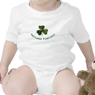 Irlanda para siempre traje de bebé