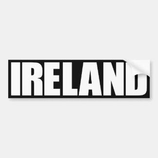 Irlanda Pegatina Para Auto