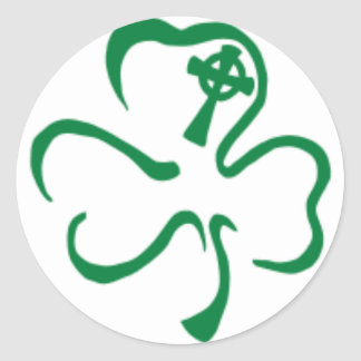 Irlanda Pegatina Redonda