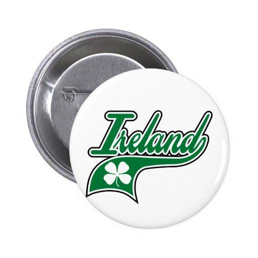 Irlanda Pin Redondo 5 Cm