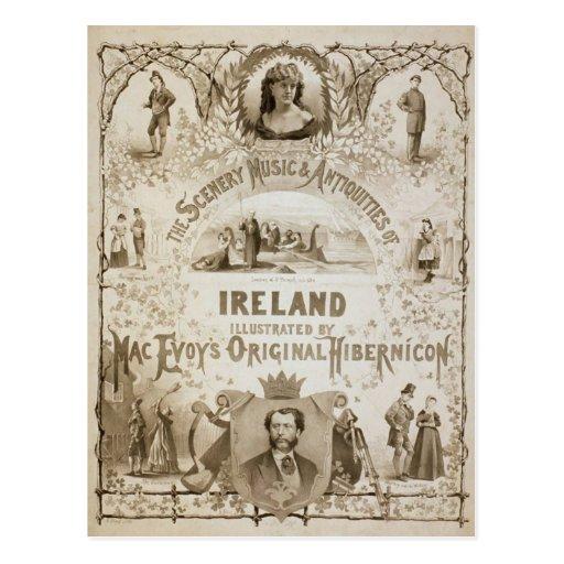 Irlanda, por 'Hibernicon original de Evoy del mac Tarjetas Postales
