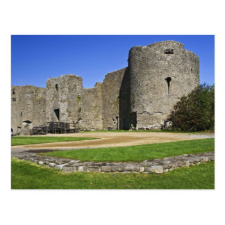 Irlanda, Roscommon. Vista de ruinas de Roscommon Tarjeta Postal