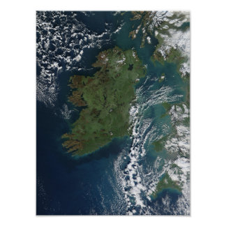 Irlanda según lo visto del ISS Impresiones