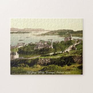 Irlanda vieja, pueblo de Killybegs, Donegal 1900 Rompecabeza Con Fotos