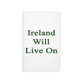 Irlanda vivirá encendido cuadernos grapados