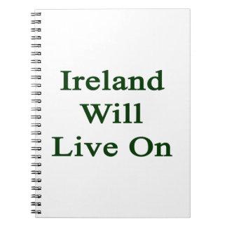 Irlanda vivirá encendido libreta espiral