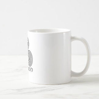 Irlanda y el espiral triple tazas de café