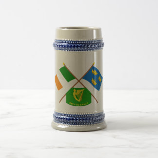 Irlanda y Munster cruzados ProvinceFlags w Erin Taza