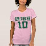 Irlandés 10 camisetas