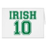 Irlandés 10 felicitaciones