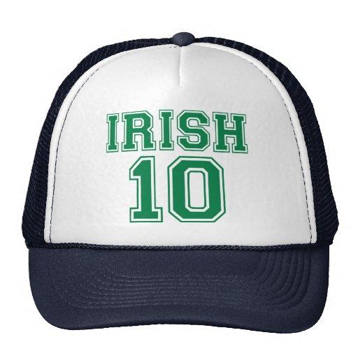 Irlandés 10 gorro