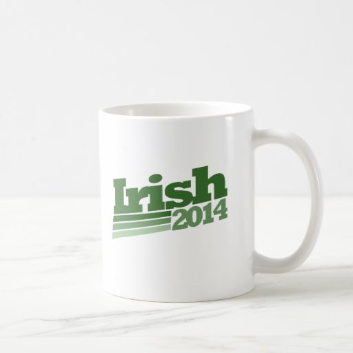 Irlandés 2014 taza de café