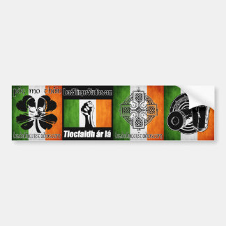 Irlandés 4 Bumperstickers de LSS Pegatina Para Auto