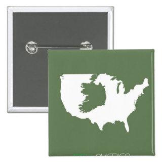 Irlandés América Pins