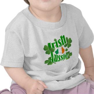 Irlandés Aussie Camiseta